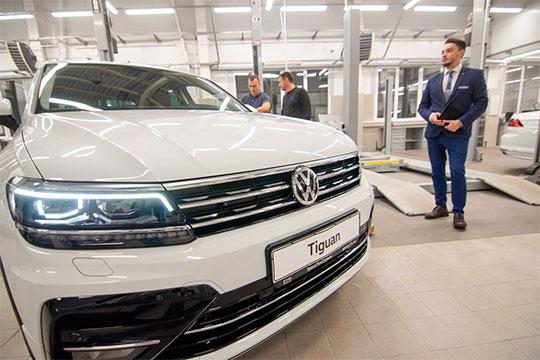 Четвертое место поабсолютному приросту и6-е почисленности впарке республики занимает Volkswagen