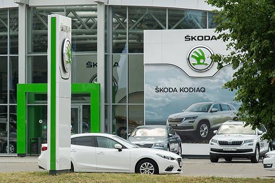 Российская популяция Skoda выросла загод на83,5тыс. (10,3%), запятилетку— на325,5тыс. (57%) до895тыс. авто