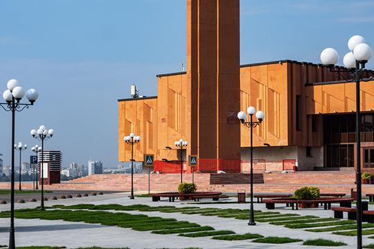 Полная трансформация иперепрофилирование бывшего здания НКЦ будут иметь серьезные последствия для городского пространства вцентре города
