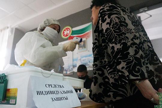 Как и1июля, навыборах всентябре избиратели должны быть обеспеченыСИЗ