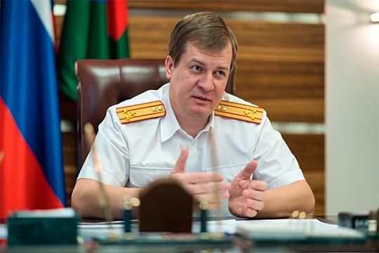 У главного следователя Татарстана Валерия Липского, наконец-то, появился новый заместитель.Имстал хороший его знакомый из Башкортостана