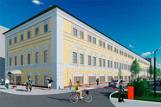 В здании на Коротченко, 26 предприниматели хотели разместить «гостинично-деловой комплекс», как выразился сам Хуснуллин. Размер инвестиций — более 200 млн рублей из разных источников финансирования