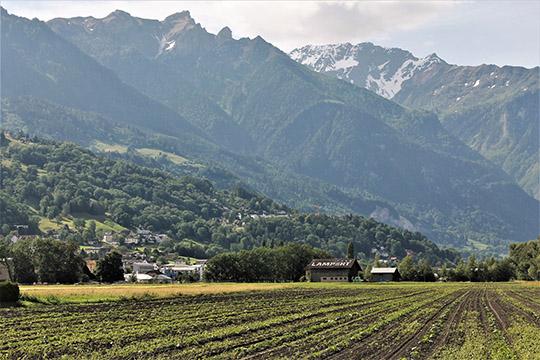 Сельский пейзаж Лихтенштейна