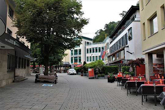 Одна изглавных улиц Вадуца