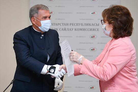 Коронавирус – главный конкурент: с каким лозунгом идет на выборы Рустам Минниханов?