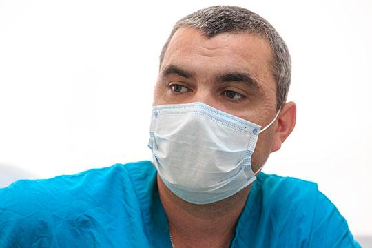 Виталий Григорьев: «Идет спад, пациентов тяжелых становится меньше»