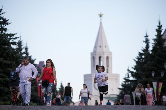 Сейчас поток туристов в Татарстане составляет примерно 30% отуровня 2019 года. Что касается отелей, если виюне всреднем загрузка составляла 15% загрузка, товиюле выросла почти до30%