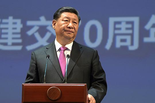«Социализм скитайской национальной спецификой— это то, что объявил Дэн Сяопин, цвет желтый. СиЦзиньпин исправил эту формулу исказал— социализм снациональной спецификой новый эпохи»
