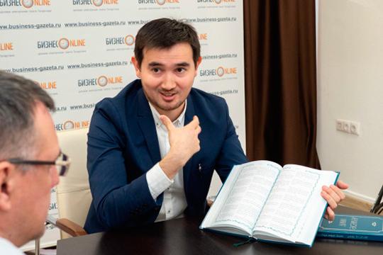 Венчает наш рейтинг один изсамых перспективных татарских ученых-гуманитариевАльфрид Бустанов(50)