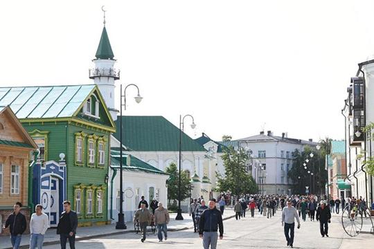 «Сегодня судьба исторического центра Казани уже невызывает опасений, спасены, восстановлены сотни объектов, вних кипит или начинает кипеть жизнь»