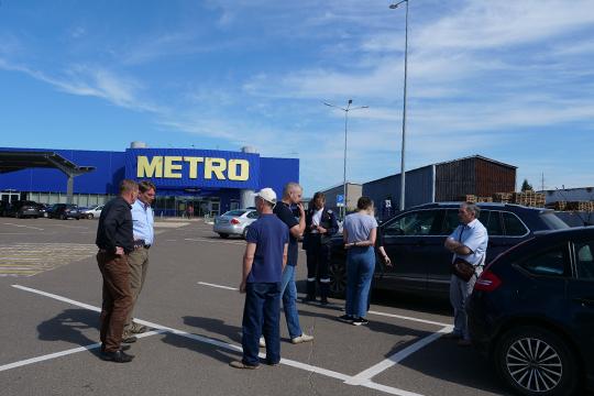 ВMETRO Cash and Carry подчеркивают, что находятся вдиалоге спострадавшими водителями иделают все, чтобы инцидент был исчерпан