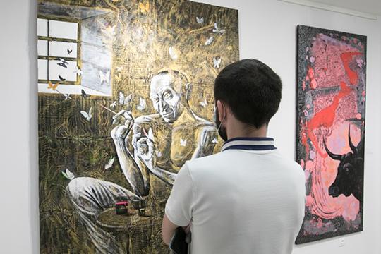 Альберт Закиров: «Картина была готова в тот момент, когда горела»