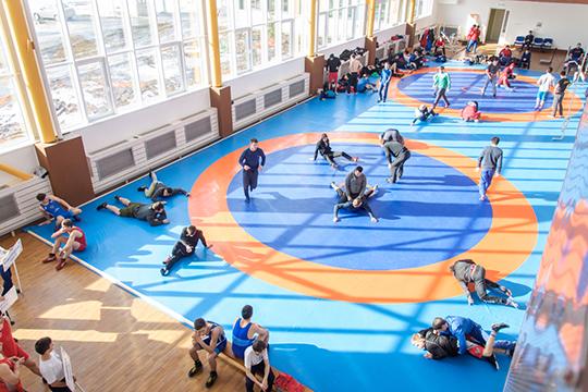 К 2024 году в Татарстане должно заниматься спортом 57% населения. Такую задачу ставит нацпроект «Спорт — норма жизни», по которому Татарстан получает большие объёмы финансирования по спортивным объектам
