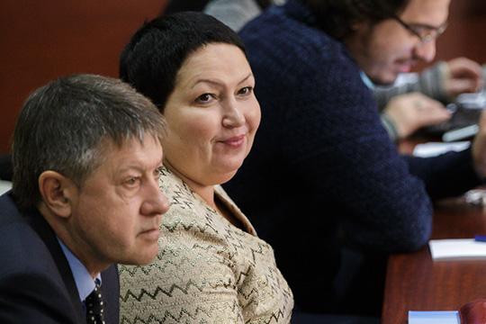 Рушания Бильгильдеева резко сократила свой доход:с2,3млн рублей в2018 году до514 тысяч в2019-м. Супруг, напротив, увеличил доход с600 до800тыс. рублей