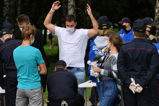 «Число задержанных перевалило за 1200, но такая цифра получилась за все лето на разных акциях протеста»