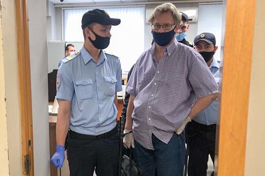 Гособвинение предложило отправитьГерманаДьяконова на9 лет вколонию общего режима