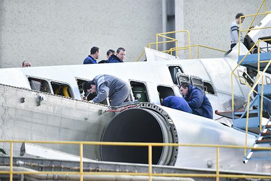 Среди местных авиастроителей пошли разговоры о том, что проект Ту-330, на который в Казани возлагали немало надежд, будет свернут