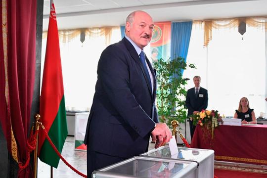 Выборы президента Беларуси закончились предсказуемой победой Александра Лукашенко. За Батьку проголосовали 80,23% избирателей (при явке 84,23%)