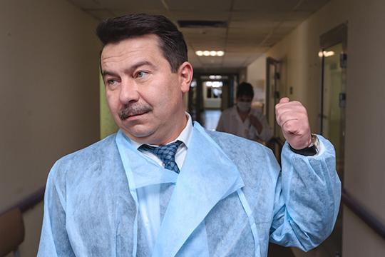 Марат Садыковопроверг заявления оповторных случаях заражения коронавирусом вТатарстане:«Возможно, произошла неправильная диагностика самой коронавирусной инфекции»