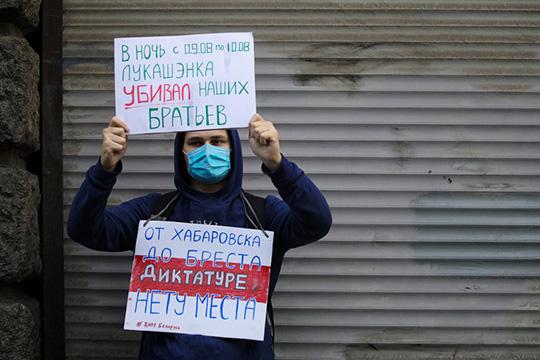 Ненадо поддерживать жесткие действия белорусских силовиков, как уже совершенные, так ите, которые они еще, возможно, совершат, тем более каким-то официальным лицам, иговорить, что, мол, давайте, мочите протестующих дубинками, мысвами