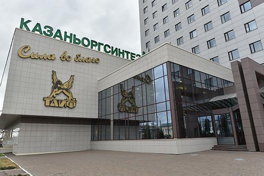 На ПАО «Казаньоргсинтез»выручка сократилась на 22%, или 8,9 млрд рублей: с 40,2 млрд рублей в январе–июне 2019 года до 31,2 млрд в январе–июне 2020 года