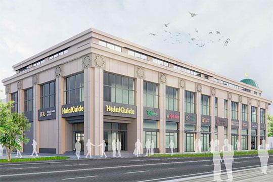Проект создания нового торгового центра в Казани HalalGuideMall представили накануне президенту РТ Рустаму Миниханову