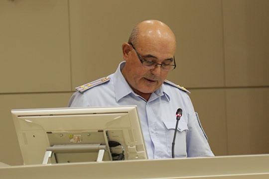 Замначальника полиции МВД по РТ Фяргат Мухаметзянов доложил о том, как планируется обеспечить охрану общественного порядка в школах в новом учебном году
