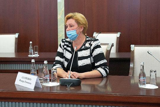 Флюра Адаменкоспросила, почему Башкортостан нехочет добывать природную соду? Впример она привела завод попроизводству соды вТурции, где, поеесловам, себестоимость соды втри раза меньше