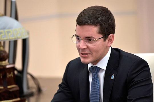 В Уральском федеральном округе лидирующие позиции сохраняет молодой губернатор Ямало-Неменецкого АО Дмитрий Артюхов