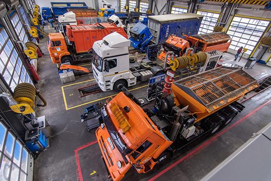 «Кориб» предлагает клиентам новые «КАМАЗы», гарантийное, сервисное обслуживание техники, модернизацию автомобилей, ихкапитальный ремонт иутилизацию, являясь крупнейшим авторемонтным заводом России