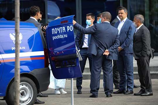 Рустам Минниханов иМаксим Акимовподписали соглашение осоздании вТатарстане таможенного склада вформате пилотной бондовой зоны