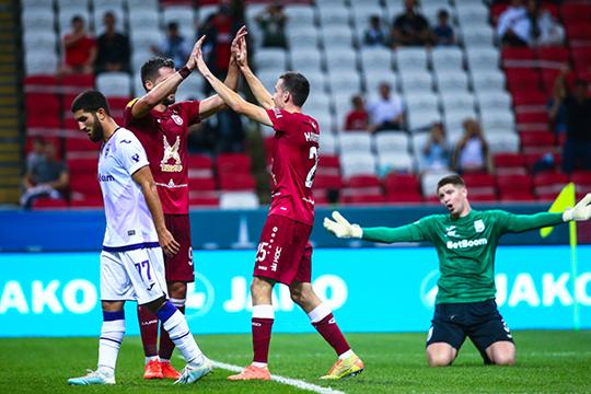 «Рубин» выиграл два матча, показав разный стиль, но при этом качественный футбол и сегодня кажется, что у команды хорошие перспективы