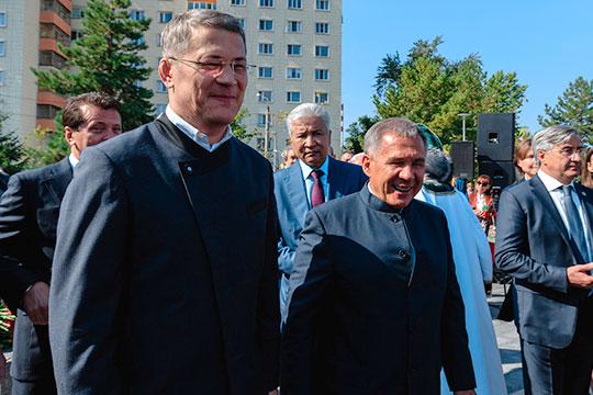 Напомним, что в 2019-м президент РТ приезжал в Уфу на празднование столетия БАССР и открывал там памятник Габдулле Тукаю. И вот теперь в Казани глава Башкортостана