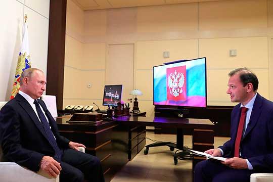 Сегодня президент РоссииВладимир Путиндал большое интервью журналистуСергею Брилевупоактуальным темам