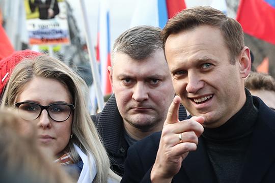 «Яскажу то, вчем практически уверен. Навальный как всякий большой феномен является неким сочетанием различных проектов иинтересов. Главные, кто командуют Навальным, это спецслужбыСША»