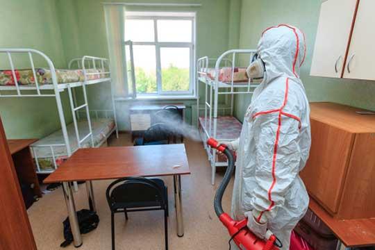 Помещения общежитий будут тщательно обработаны ипродезинфицированы, итолько после этого можно будет размещать студентов