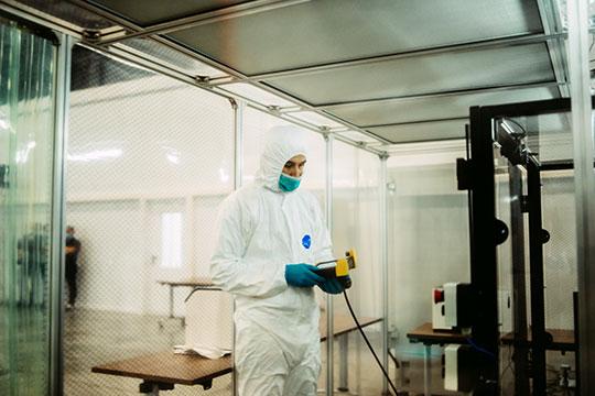 Изначально речь шла в первую очередь о диагностике гриппе, однако пандемия внесла коррективы — было принято решение переориентироваться на мини-ПЦР-лабораторий для диагностики коронавируса