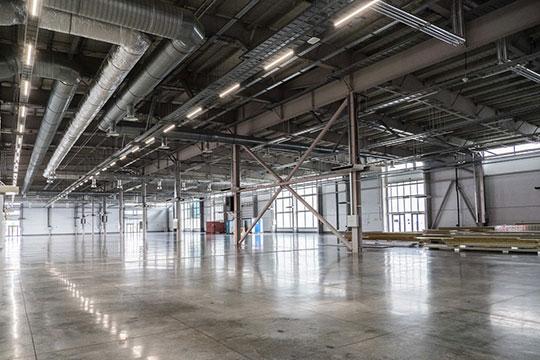 Под ФМП отдан весь кластер Б — здание общей площадью 36 тыс. кв. метров, расположенное правее действующего выставочного павильона «Казань Экспо»