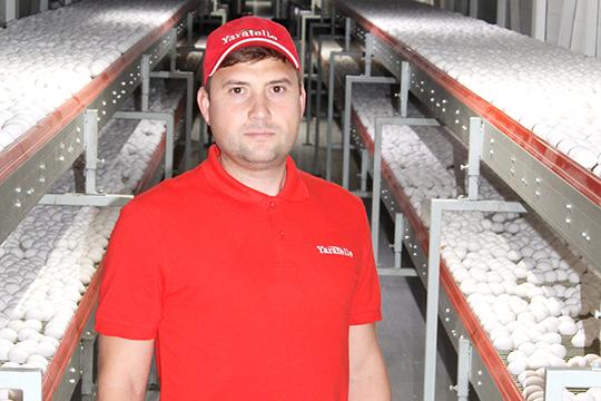 Фанис Нигаматуллин:«Потребление яйца вТатарстане— порядка 1 миллиарда 200 тысяч яиц израсчета 308 штук начеловека вгод, такоеже, кстати, как ивЕвропе. И 25 процентов этого рынка занимаеммы»