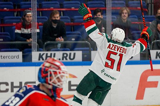 Воронков провел на льду 17:38 минут игрового времени — больше из нападающих играл только Азеведо