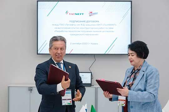 Пословам Розы Гатиной, успешный запуск новых технологий приведет кувеличениюпроизводства целлюлозы в15-20 раз