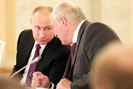 Ядумаю, что Путин пообещал «батьке» непросто абстрактную поддержку— были иконкретные заверения. Как сказал президент РФвинтервью, помощь будет оказана вслучае