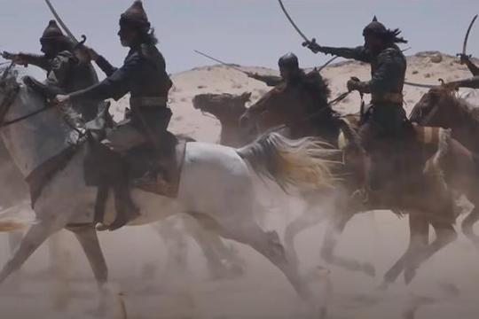 Впротивовес саудиты проспонсировали производство арабского сериала «Королевство огня», показывающий османских турок как жестоких, безжалостных идиких людей