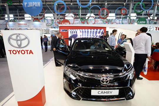 По данным ТТС, за полугодие Toyota в целом прибавила 2,3% — один из лучших показателей в портфеле дилера
