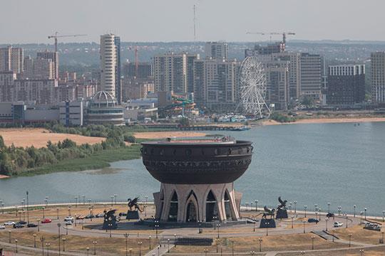Сразу у нескольких площадок отныне запретили высотки и капитальное строительство. Это территория у НКЦ, центра семьи «Казан» и театра кукол «Экият»