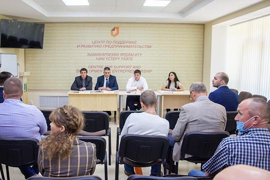 Вцентре поддержки предпринимательства состоялась встреча нижнекамских производственников иМашиностроительного кластера РТсруководством международной турецкой строительной компании «Гемонт»