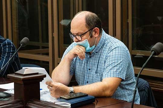 Адвокат Минько Олег Рыков (на фото) объяснил, что замечания касаются неполного отражения показаний свидетелей ипоказанийего подзащитного