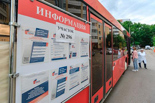 «Автобусы — это вообще наше ноу-хау. В общей сложности для голосования будут оборудованы 972 точки — во дворах или автобусах»