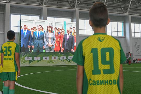 Четыре новых манежа — это первые крытые объекты для футбола в Татарстане с 2007 года, когда крытое поле появилось при Центральном стадионе