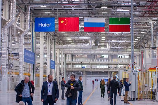 Ключевым резидентом ТОСЭР стала китайская компания Haier, вчесть которой вЧелнах даже назвали улицу